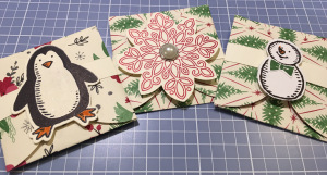 penguin, snowman, pop up, envelope, cards, mini, card envelope, pop-up