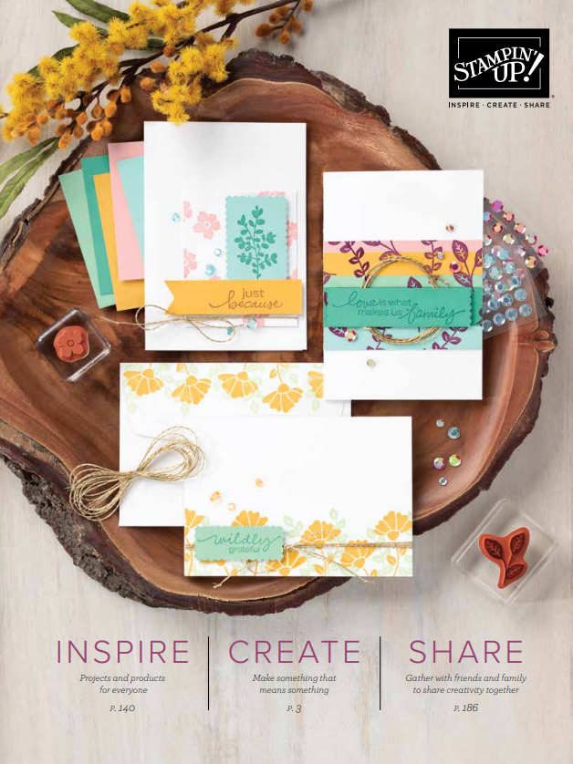 Download the latest Stampin' Up Catalog in .pdf form